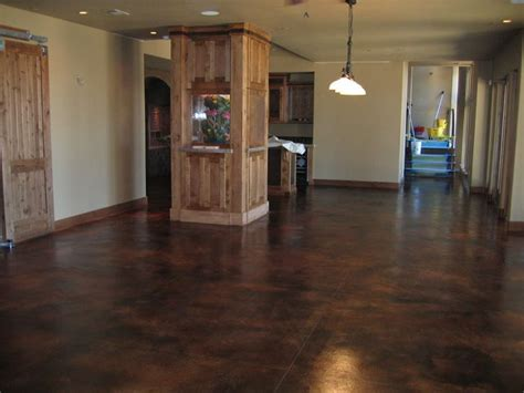 dark stain concrete floor colors google search