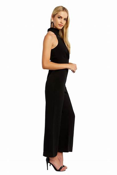 Jumpsuit Sleeveless Bardot Jumpsuits Playsuits Clothing
