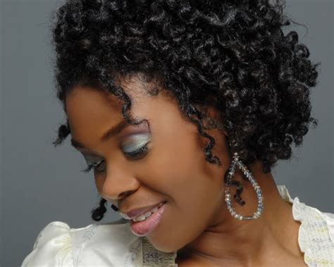 remarkable short curly hairstyles  black women