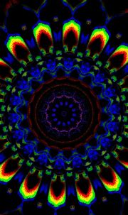 Trippy Colorful Wallpaper For iPhone   2021 3D iPhone ...