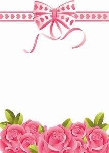Pink Roses Transparent PNG Photo Frame | Рамки, бордюры ...