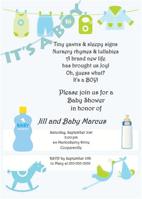 Baby Shower Wording Ideas For A Boy - invitation design tips by purpletrail