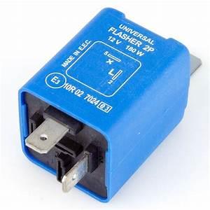 2 Pin Electronic Flasher Relay 180 Watt Max