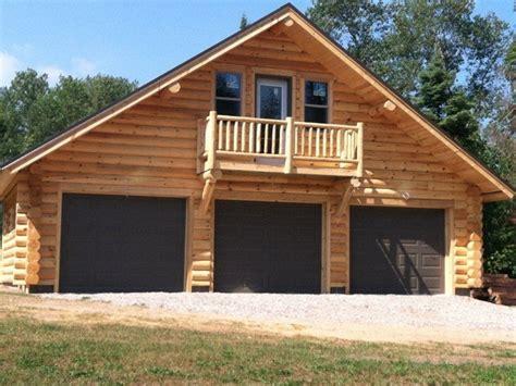 log garage with apartment plans log cabin garage kits