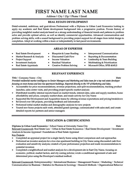 Real Estate Marketing Manager by Maintenance Supervisor Resume Template Premium Resume