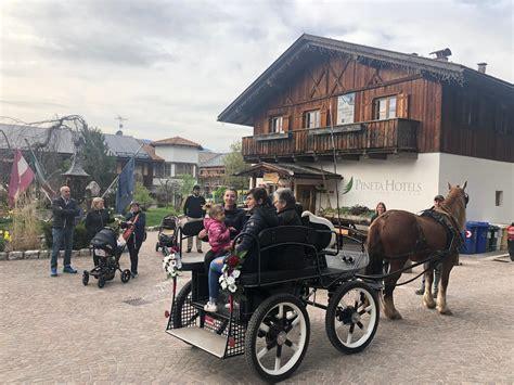 cavalli con carrozza slitta trainata da cavalli giro in carrozza sulla neve