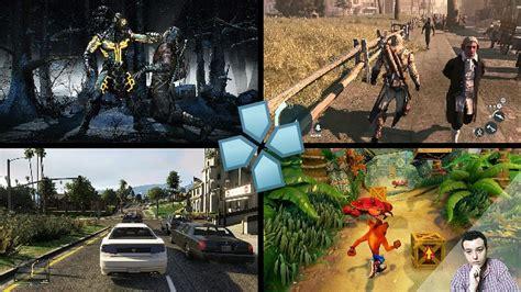 Metal gear solid, god of war, crisis core, gta, kingdom hearts, dissidia y más. Los mejores juegos de ppsspp para android - YouTube