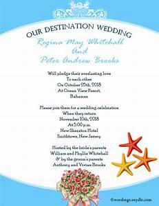 destination wedding invitation wording samples wordings With destination wedding invite wording ideas