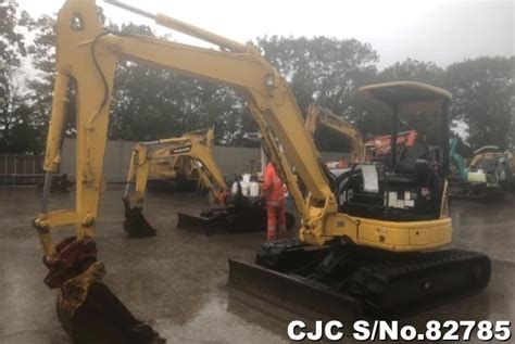 komatsu pcmr excavator  sale  model cjc  japanese  machinery