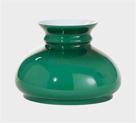7 inch student l shades 7 cased green glass shade 00637 b p l supply