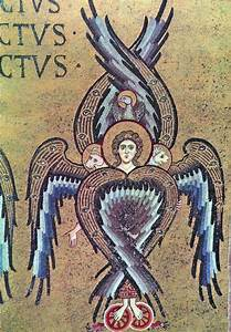 Mosaic of a Seraph with the Four Gospels - Be as Lighted ...