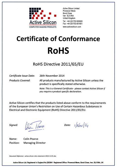 certificate of conformance template eu rohs certificate of compliance template templates resume exles bnydyrla2z