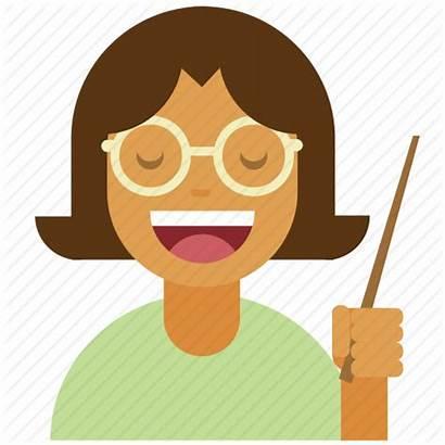 Icon Teacher Instructor Professor Lecture Person Glasses
