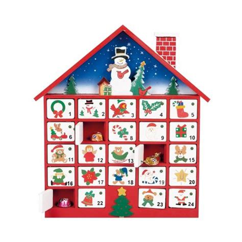 buy premier wooden advent calendar house from our all