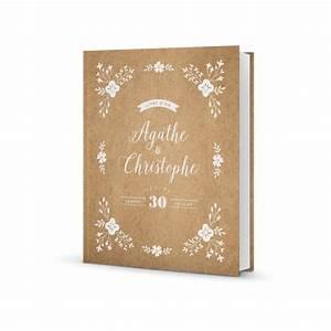 Livre D Or Mariage Champetre : joli livre d 39 or mariage personnalis design champ tre et ~ Dode.kayakingforconservation.com Idées de Décoration