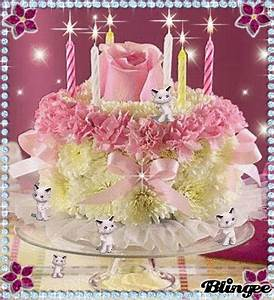 Happy Birthday-Cake with candles Picture #124177304 ...