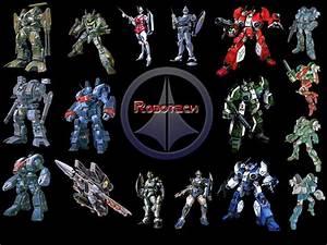 El rincon del Golem: Robotech  Robotech