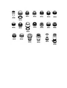 faucet adapter diagram parts list for model wc504 maytag