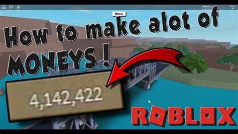 alot  money roblox lumber tycoon  youtube