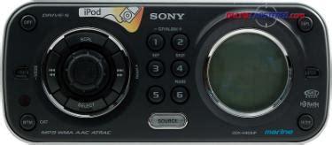 Sony Cdx Hip Marine Receiver With Rear Ipod