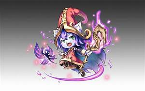 Chibi Lulu Fan Art - League of Legends Wallpapers