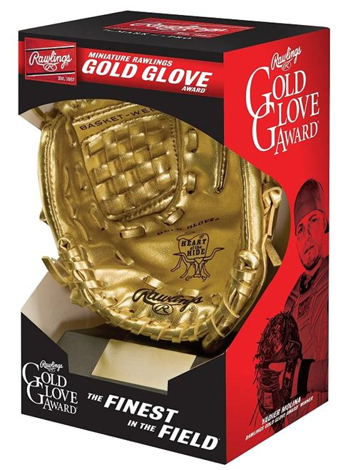 rawlings players series minirgg gold glove award