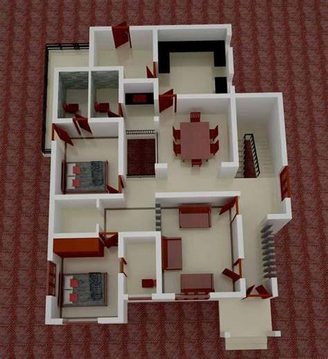 square feet  bedroom  budget contemporary modern home design  plan home pictures