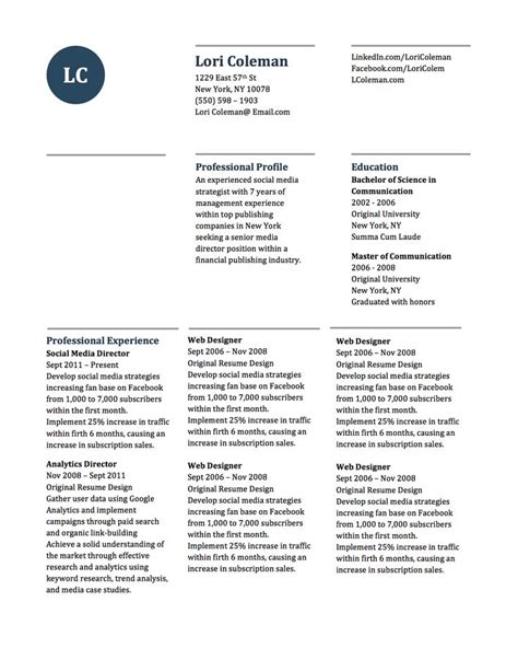 Simple And Attractive Resume by Modern Two Page Simple Word Resume And Cover Letter Template No 1 Words Beautiful And Simple