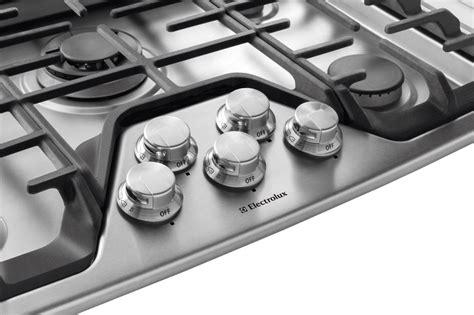 electrolux ewgcps   built  gas cooktop   sealed burners min  max flame