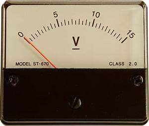 Free Pictures Voltmeter