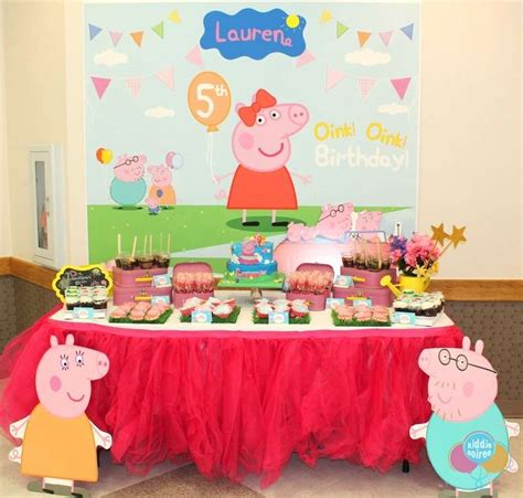 peppa pig birthday ideas photo 15 of 22 catch my
