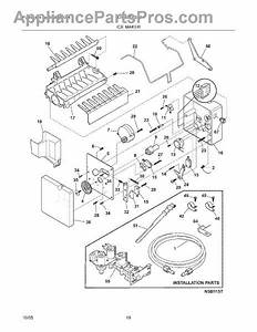 Frigidaire 241796407 Tube-water Fill