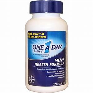 One-a-day  Men U0026 39 S Health Formula  Multivitamin  Multimineral  200 Tablets