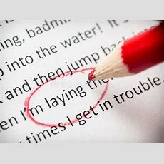 Proofreading Essay Errors Stock Image Image Of Paper 35291493