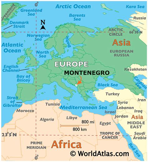 No help map or hints in the answers available. Montenegro Map / Geography of Montenegro / Map of ...
