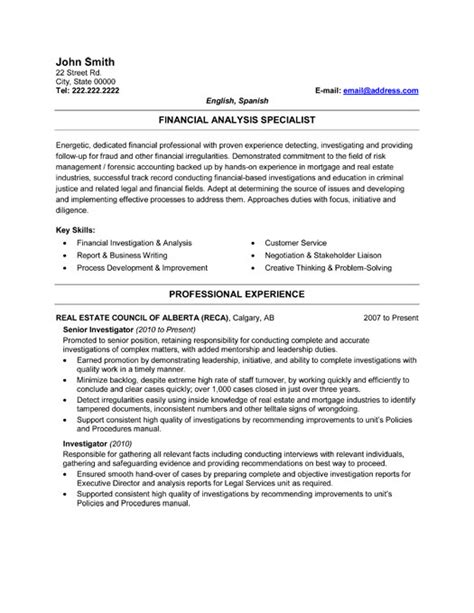 Fraud Investigator Resume by Fraud Detection Investigator Resume Template Premium Resume Sles Exle
