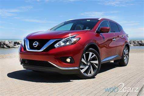 2016 Nissan Murano Reviews by 2016 Nissan Murano Platinum Awd Review Web2carz