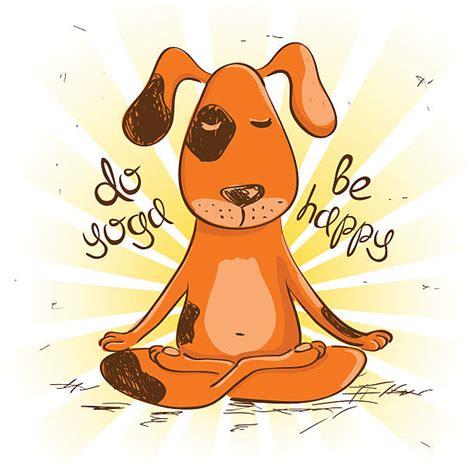 top  dog yoga clip art vector graphics