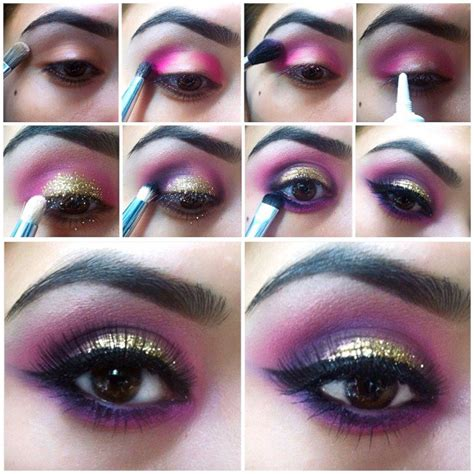 stunning eye makeup    party pretty designs