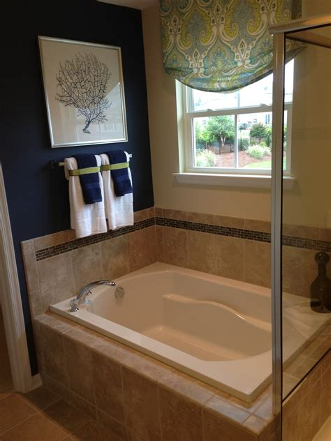 model home bathroom decor video