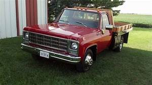Purchase Used 1979 Chevy C30 Flatbed 1 Ton  Dually Truck