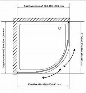 Viertelkreis Duschkabine 80x80 : duschabtrennung design rund luxus viertelkreis duschkabine ~ Watch28wear.com Haus und Dekorationen