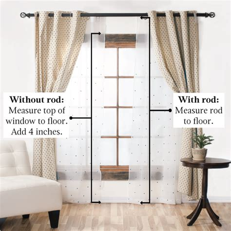 window curtain lengths guide choosing window curtains for the home