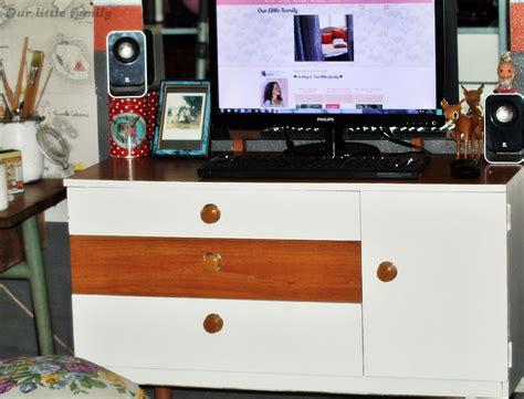 schreiber cuisine un meuble schreiber transformé en bureau de salon vintage