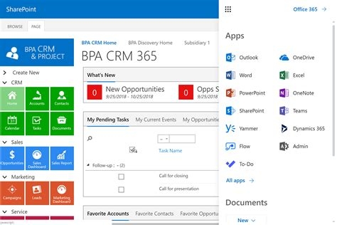 Office 365 Portal Software by Office 365 Crm Software