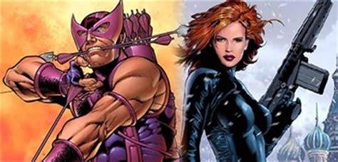 Rumor Hawkeye Black Widow Will Iron Man