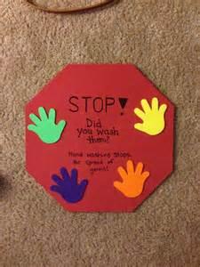Preschool Hand Washing Signs