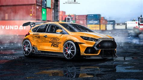 ford tuning artstation ford focus rs 2015 tuning emil arts