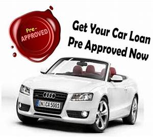 Pre-approved Auto Loans With Bad Credit