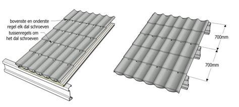 minimale hoek dakpannen dakpanplaat